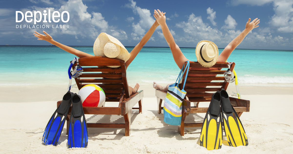 depilacion láser playa